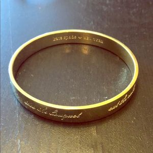 AUTHENTIC Kate Spade Gold Bangle